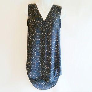 H&M High Low Sleeveless Tunic Size 4/6